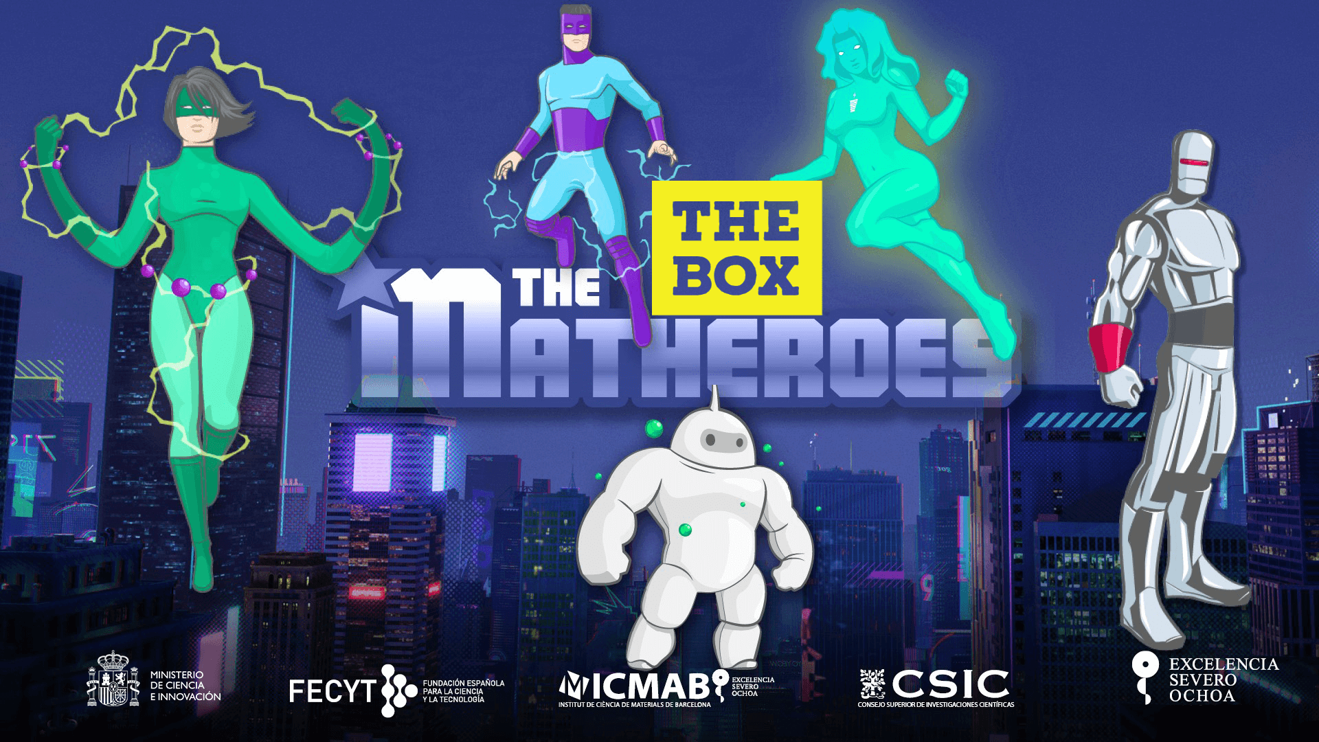 MATHEROES THE BOX