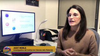 "Judit Morlà talks about the Coronavirus on ""Som-hi"" on TAC12 TV"