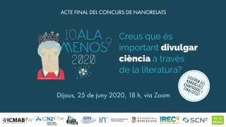 Successful participation in Catalonia in the contest of nanostories on nanoscience and nanotechnology
