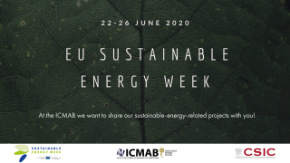 The ICMAB welcomes you to the EU Sustainable Energy Week #EUSEW2020