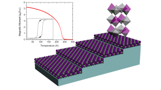 Rapid Thermal Annealing of Double Perovskite Thin Films Formed by Polymer Assisted Deposition
