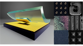 Large-Scale Soft-Lithographic Patterning of Plasmonic Nanoparticles