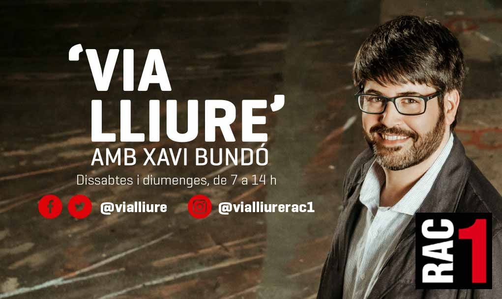 Banner for Via Lliure on RAC1